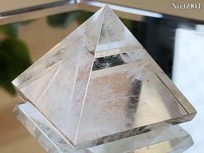 ヒマラヤ水晶ピラミッド 約30g No,6904