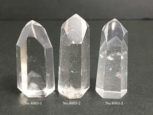 ファントム水晶ポイント 4~18g No,4663