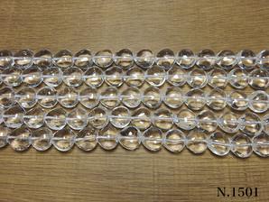 水晶 ハート型 12mm