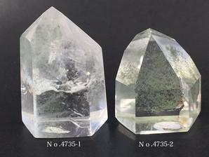 ガーデン水晶ポイント 約20g No、4735