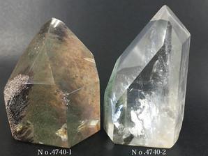 ガーデン水晶ポイント 約70g No、4740