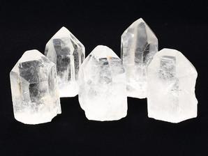 水晶ポイント原石底辺カット