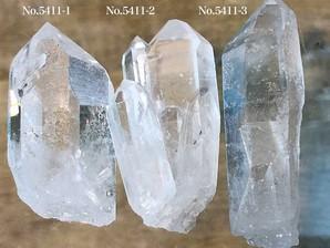 ナチュラル水晶ポイント 約40g No,5411