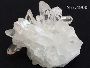 水晶クラスター  約220g No,4900