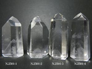 ファントム水晶ポイント 4~18g No,2501