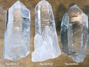 ナチュラル水晶ポイント 約40g No,5410