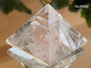 ヒマラヤ水晶ピラミッド 約20g No,6895