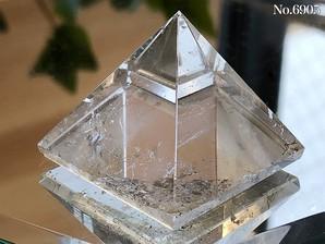 ヒマラヤ水晶ピラミッド 約30g No,6905
