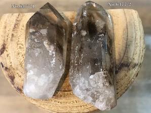 水晶ポイント (マロン)30g No,6477
