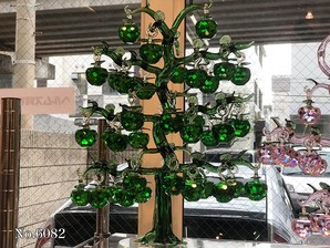 ★ガラス リンゴの木 No、6082 (38個)