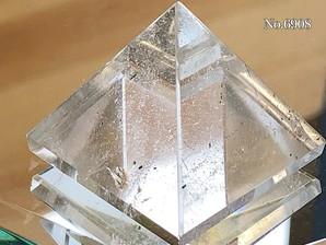 ヒマラヤ水晶ピラミッド 約30g No,6908