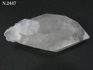 両剣水晶ポイント 80g No,2447