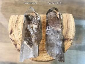 水晶ポイント (マロン)30g No,6476