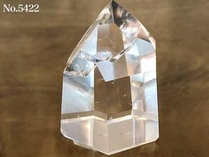 水晶ポイント 約70g No,5422