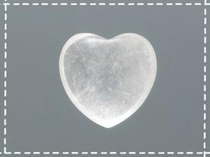 ミニハートペーパーウェイト 水晶