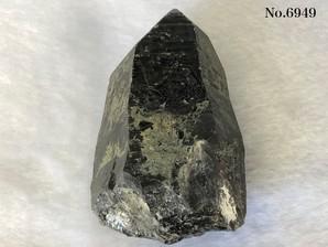 黒水晶クラスター (三東省産) 200g No,6949