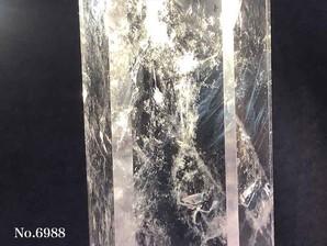 水晶ポイント エンジェルラダー 約200g No,6988