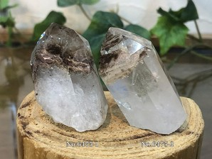 水晶ポイント (マロン)30g No,6475