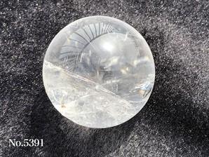 水晶丸玉 59-60mm 約290g No,5391