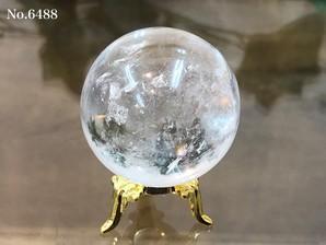 ヒマラヤ水晶丸玉 約90g No,6488