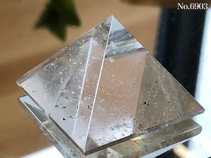 ヒマラヤ水晶ピラミッド 約30g No,6903