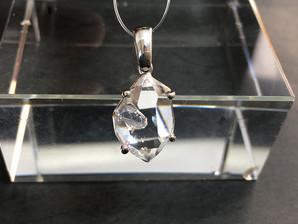 ハーキマー水晶PT(SV925)3,1g No,4381