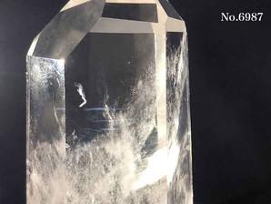 水晶ポイント エンジェルラダー 約220g No,6987