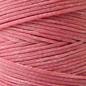 蝋引き紐1.2mm幅 ピンク