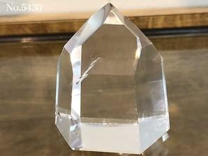 水晶ポイント 約90g No,5430