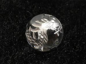 水晶龍彫りパーツ(シルバー)