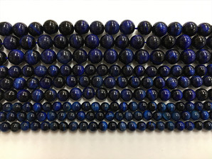 ウルトラマリン(ブルー)タイガーアイ 6,8,10mm