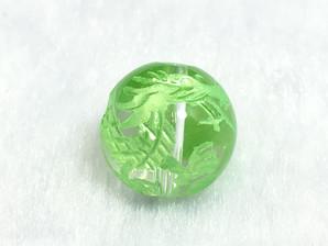 水晶龍彫りパーツ(グリーン)