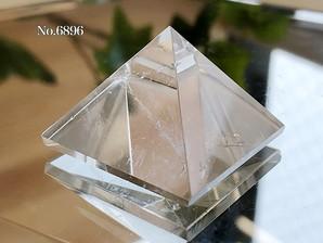 ヒマラヤ水晶ピラミッド 約20g No,6896