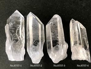 ナチュラル水晶ポイント 約20g No,6757