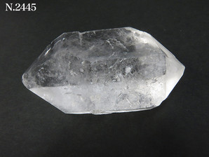両剣水晶ポイント 60g No,2445
