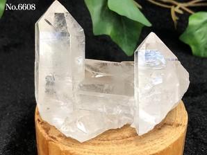 水晶クラスター(トマスゴンサガ産)150g No,6608