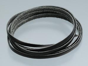 平革紐 ブラック