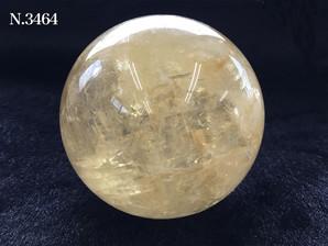 ゴールデンカルサイト丸玉 73~74mm No,3464