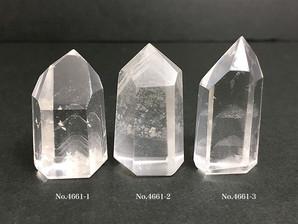ファントム水晶ポイント 4~18g No,4661