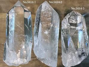 ナチュラル水晶ポイント 約50g No,5414