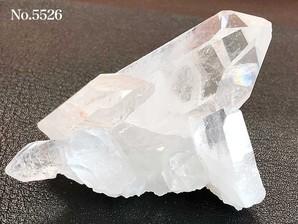 水晶クラスター(トマスゴンサガ産)80g No,5526