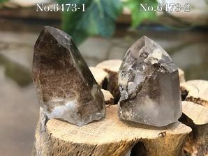 水晶ポイント (マロン)10g No,6473