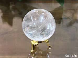 ヒマラヤ水晶丸玉 約90g No,6486