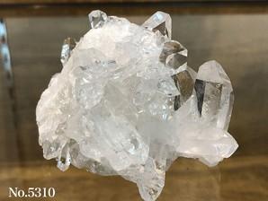 水晶クラスター(トマスゴンサガ産)210g No,5310