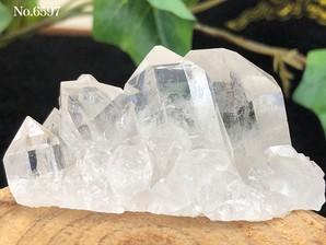 水晶クラスター(トマスゴンサガ産)80g No,6597