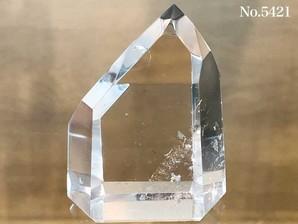 水晶ポイント 約70g No,5421