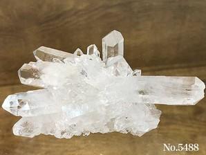 水晶クラスター(トマスゴンサガ産)120g No,5488