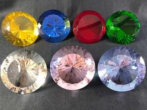 ガラス ダイヤモンドカット(L)