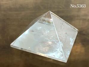 水晶ピラミッド 約70g No,5363