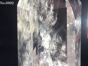 水晶ポイント エンジェルラダー 約420g No,6992